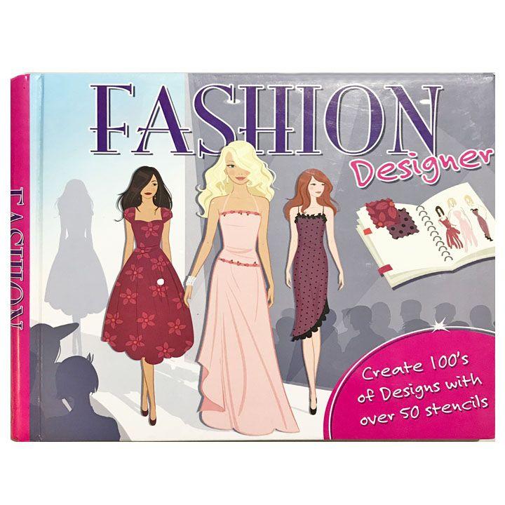 Stencil Book Fashion Designers Over 50 Stencils