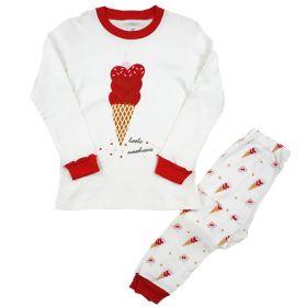 PIYAMA ANAK LENGAN PANJANG 4T - 10T - Little Sweetheart Ice Cream