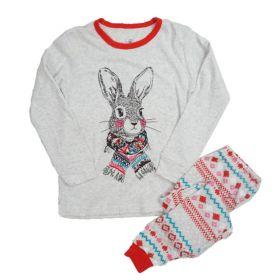 PIYAMA ANAK LENGAN PANJANG 4T - 10T - Winter Bunny