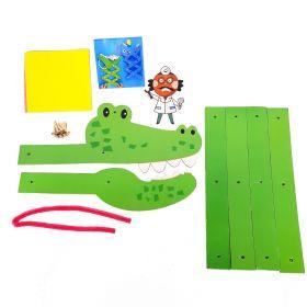Mainan Edukasi Buat Mainan Anak Kerajinan Tangan Dokter Gigi Buaya