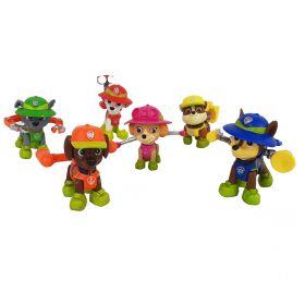 Paw Patrol Mainan Pajangan Miniatur Hiasan Topper Set