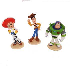 Toy Story Mainan Pajangan Miniatur Hiasan Topper Set