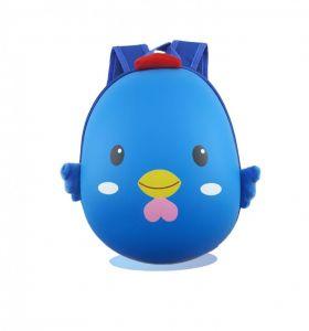 TAS RANSEL BACKPACK ANAK 3D Hard Shell - Blue Chic
