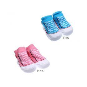 Kaos Kaki Bayi Model Sneakers Tali Sepatu