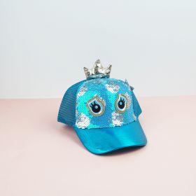 Topi Unicorn Sequin Starfive DARK BLUE